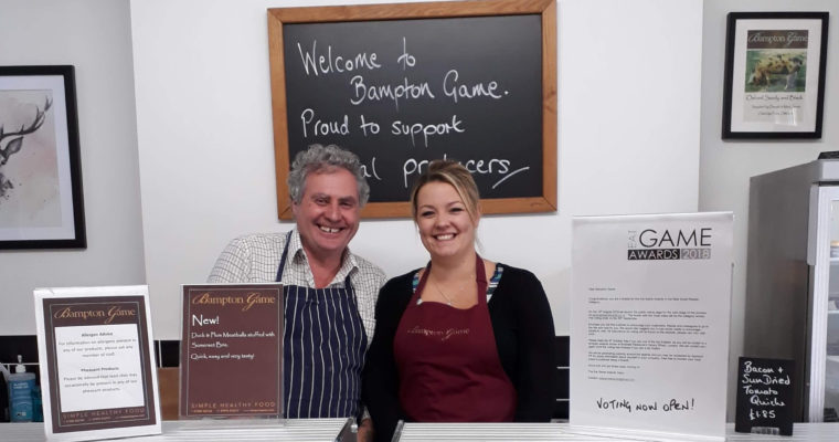 Bampton Game nominated in national Eat Game Awards
