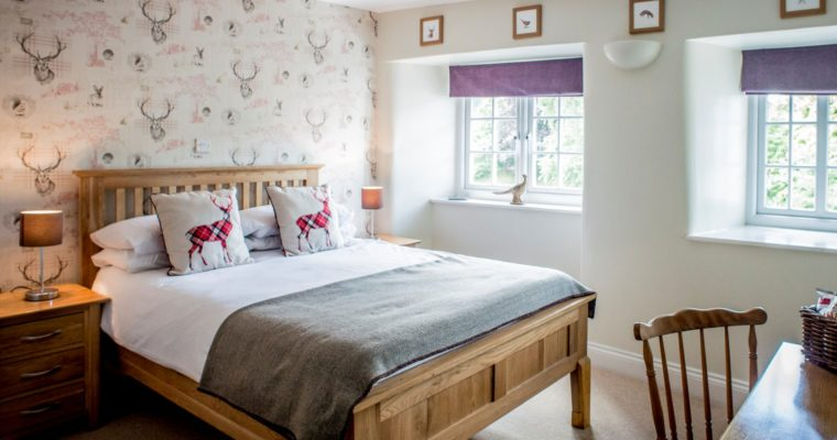 Our B&B rooms are open once again!